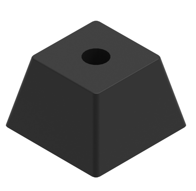 Square sofa leg 70x50